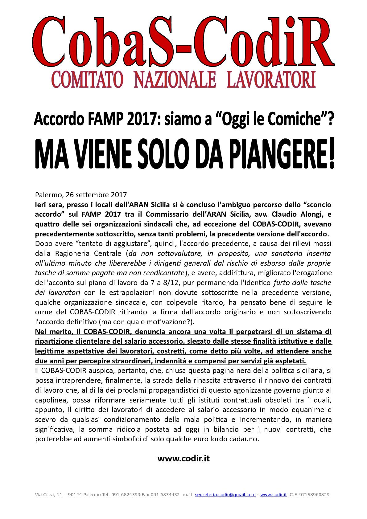 26092017 Sindacando Il Blog Di Benedetto Mineo